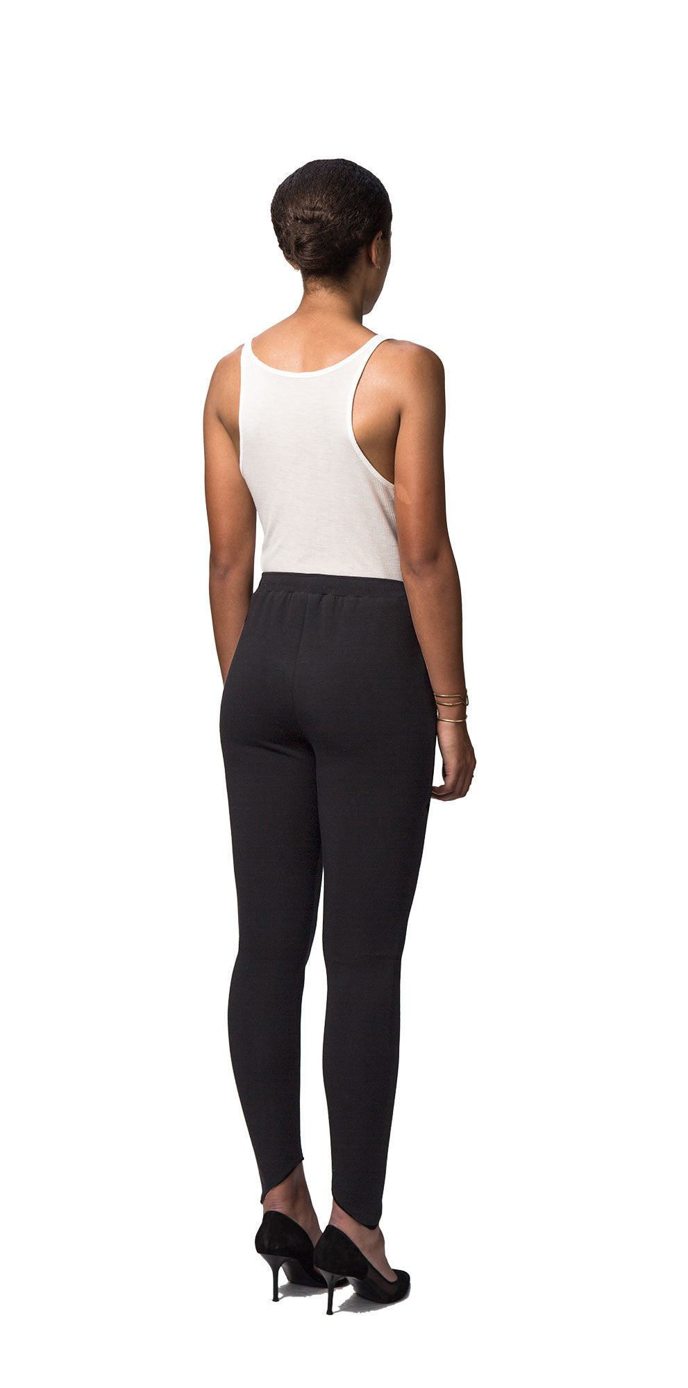 Drawstring Trouser Leggings