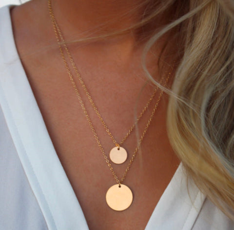 DEAL OF THE DAY!! Double Layer Gold Necklace (Pre Order)