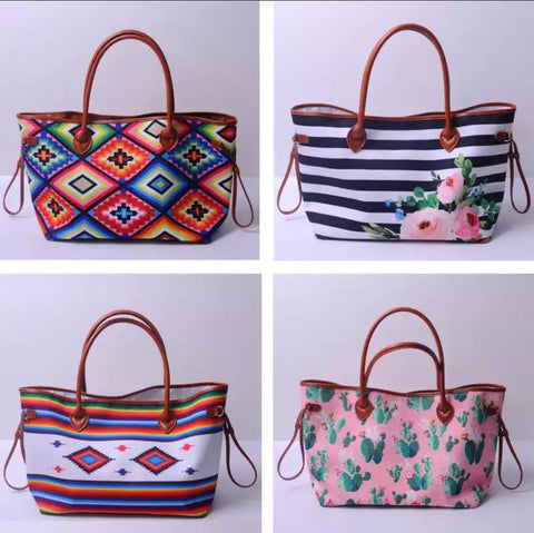 DEAL OF THE DAY!! Western Edge Tote Bags (Pre Order)