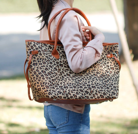 DEAL OF THE DAY!! Leopard Print Tote Bag (Pre Order)