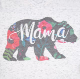 DEAL OF THE DAY!! Floral Mama Bear Tee (Pre Order)