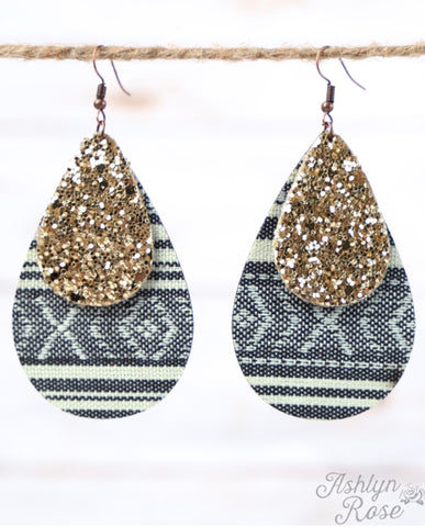The New Mexico Glitter Earrings