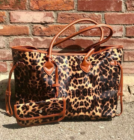 Daydreams Leopard Tote Bag