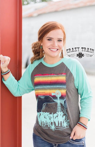 Cattle Kate Baseball Tee