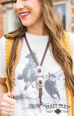 Rustler Bolo Necklaces (Brown and Black)