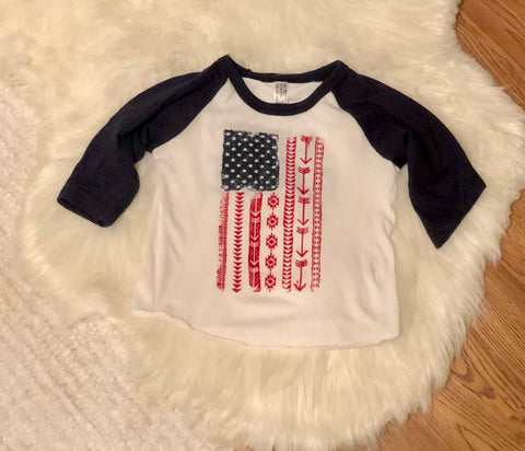 Baby Live Free Top {12-18 Months}