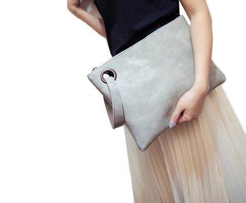 DEAL OF THE DAY!! Leather Clutch (2 Colors)