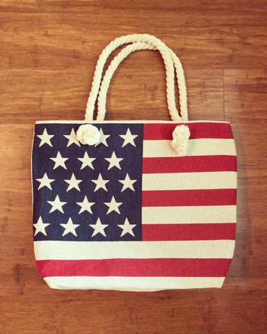 DEAL OF THE DAY!! American Flag Tote Bag