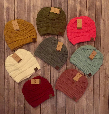 🔥🔥DEAL OF THE DAY🔥🔥CC Beanies (20+ Colors)