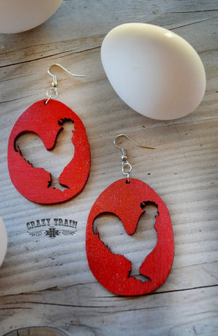 Rule The Roost Earrings