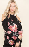 Winter Blossoms Top