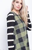 Plaid Girls Club Top