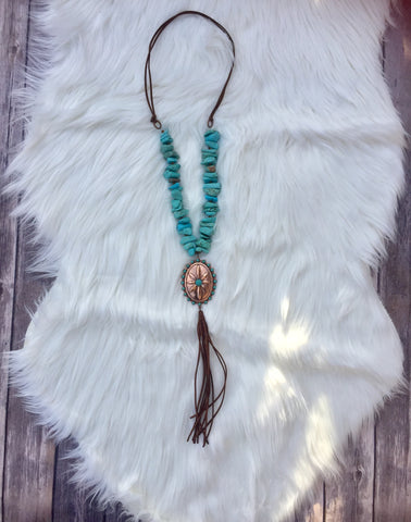 Concho Cowgirl Necklace