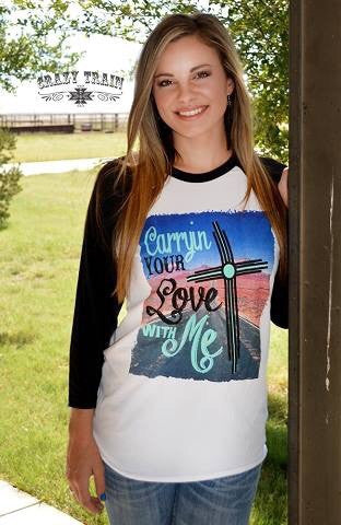 Carrying Your Love With Me Tee