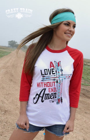 A Love Without End Amen Tee