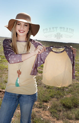 KIDS Ranch Round Up Baseball Tee