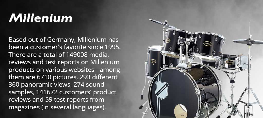 Millenium MD-90 Mobile Drum Set