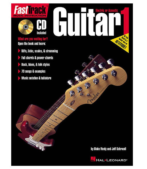 FastTrack Guitar Method - Book 1