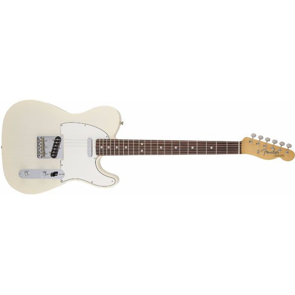 Fender American Vintage '64 Telecaster Electric Guitar, Round-Lam Rosewood Fingerboard, Aged White Blonde