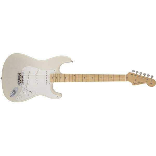 Fender American Vintage '56 Stratocaster Electric Guitar, Maple Fingerboard, Aged White Blonde