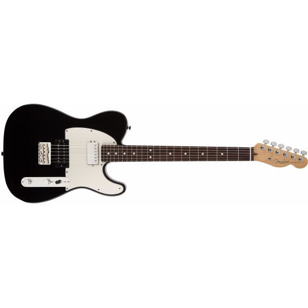 Fender American Standard Telecaster HH RW Electric Guitar - Black
