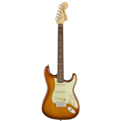 Fender American Performer Stratocaster 6-String SSS Electric Guitar - Rosewood Fretboard - Honey Burst