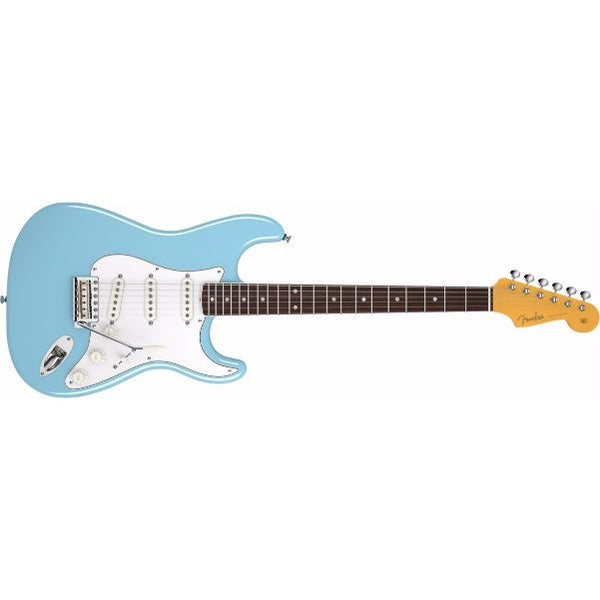 Fender Eric Johnson Stratocaster Electric Guitar, Rosewood Fingerboard, Tropical Turquoise