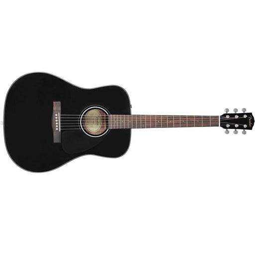 Fender CD60S Dreadnought Acoustic Guitar- Black- Open Box B Stock
