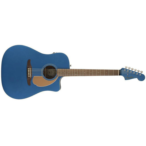 Fender Redondo Player Series Electro-Acoustic Guitar-Blue