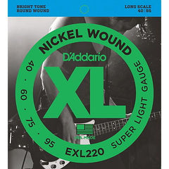 D'Addario EXL220 Bass Guitar Strings
