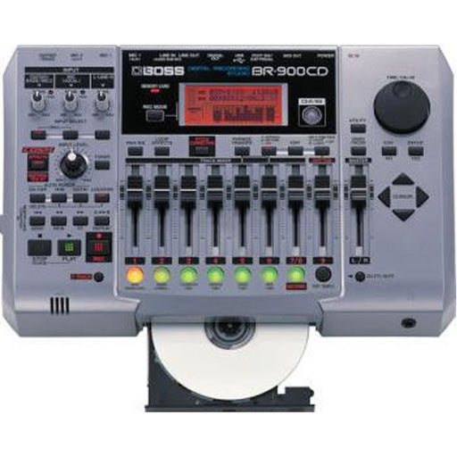 Boss BR-900CD 8-Track Recorder with CDR and Effects