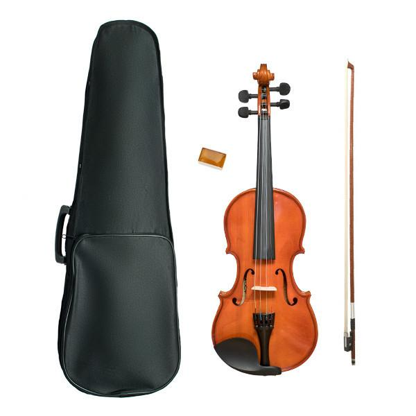 Vault VI1030 1/2 Solid Violin With Hard Case, Rosin and Bow - Open Box