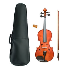 Vault VI1040 3/4 Solid Violin With Hard Case, Rosin and Bow