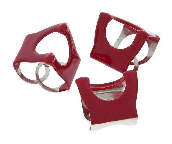 Pinch Clip Cymbal Clamp Red