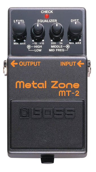 Boss MT-2 Metal Zone Guitar Distortion Pedal