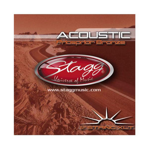 Stagg Phosper Bronze Extra Light Acoustic Guitar Strings For 12 String Guitars