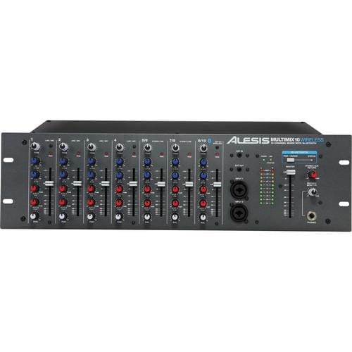 Alesis MultiMix 10 Wireless Rackmount 10-Channel Mixer with Bluetooth