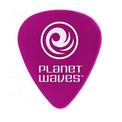 Planet Waves 1DPR6 Wide Shape Purple Guitar Pick - Pack of 10 Picks