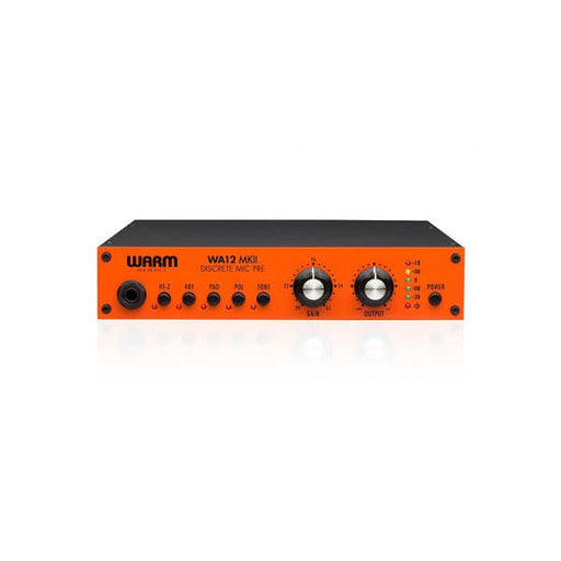 Warm Audio WA-12 MKII 1 Channel Universal Pre Amp With DI