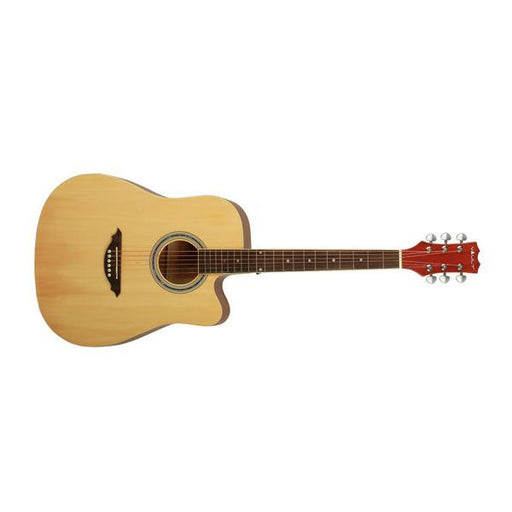 Vault ED10-NT Dreadnought Cutaway Acoustic Guitar - Natural - Open Box