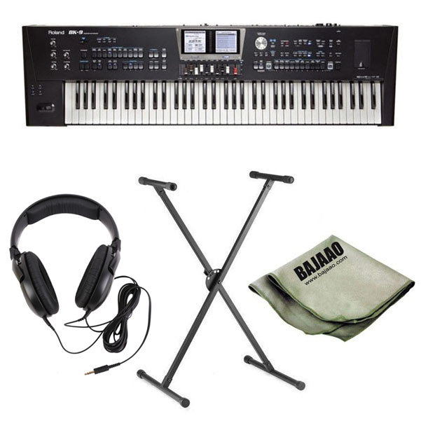 Roland BK-9 76-key Professional Arranger Deluxe Bundle