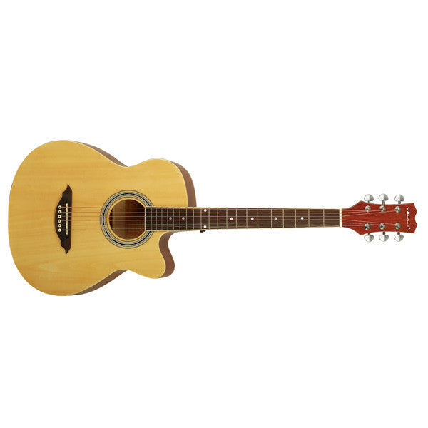 Vault EA10 40inch Medium 6 String Cutaway Acoustic Guitar