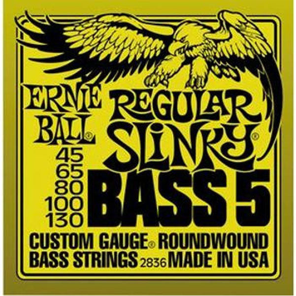 Ernie Ball 2836 Regular Slinky 5-String Bass Strings - Want It Now!