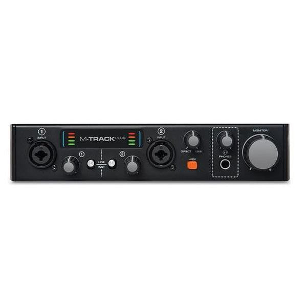 M-Audio M-Track Plus II Two-Channel USB 2.0 Audio Interface