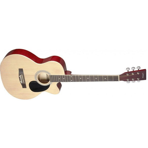 Challenge CH-SA20AC Acoustic Auditorium Cutaway Guitar -Open Box