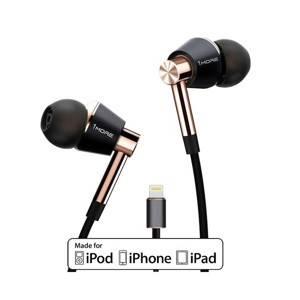 1More Triple Driver Lightning In-Ear Headphone