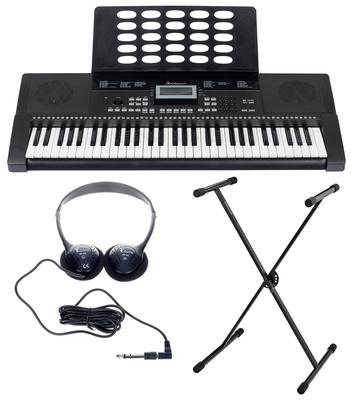 Startone MK-200 Portable Keyboard with Stand and Headphone Set