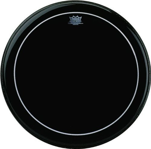 Remo Bass Pinstripe Ebony 22inch Drum Head