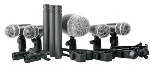 Proel DMH8XL 8 Piece Drum Microphone Kit.