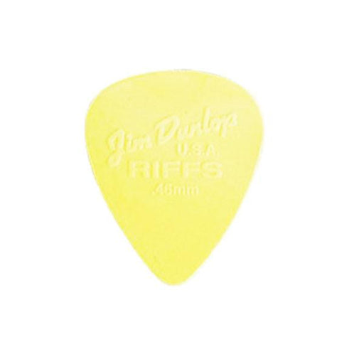 Jim Dunlop Riffs Nylon Standard Picks - Set of 6